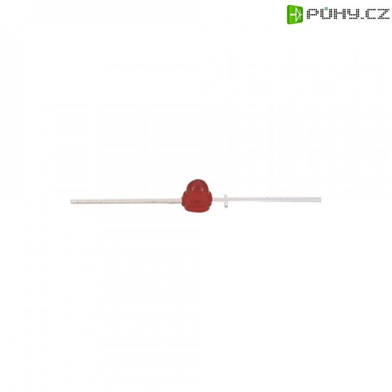 LED dioda s vývody Kingbright, YL 56, 15 mA, 2 mm, 2,5 V, 40 °, 10 mcd, žlutá - Kliknutím na obrázek zavřete