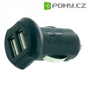 USB nabíječka do auta iGo PS00289-0002, 2x USB