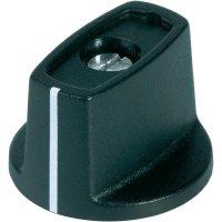 Otočný knoflík s ukazatelem (Ø 31 mm) OKW, 6 mm, černá