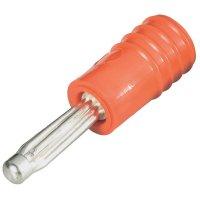 Adaptér 4/2 mm Schnepp ÜS 4020 rt, PVC, rovný, červená