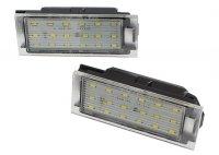 LED osvětlení SPZ RENAULT