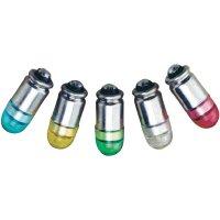 LED žárovka S4s Barthelme, 70112438, 24 V, 0,3 lm, jantarová