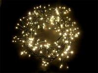 Vánoční osvětlení - ježek 2,4m IP44 teplá bílá,288LED