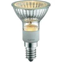 Halogenová žárovka Sygonix, E14, 50 W, 73 mm, stmívatelná, teplá bílá