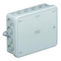 Rozbočovací krabice OBO Bettermann A18, IP55, 125 x 100 x 40 mm, světle šedá, 2000410