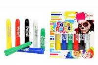 Barvy na obličej TEDDIES dětské barevné