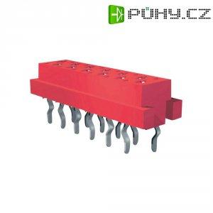 Konektor k DPS TE Connectivity 215079-80, 10pól., 1,27 mm, (d x š) 11,4 mm x 14,7 mm