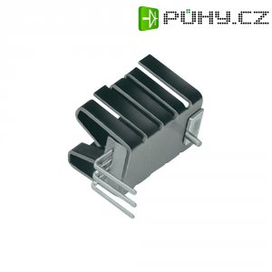 Zásuvný chladič Fischer Elektronik FK 237 SA 220/H, 19 x 14,5 x 12,7 mm, 21 K/W