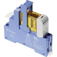 Vazební relé pro lištu DIN Finder 48.31.8.012.0060, 12 V/AC, 10 A, 1 přepínací kontakt