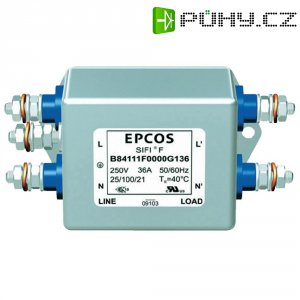 Odrušovací filtr Epcos B84112B0000B060, 250 V/AC, 6 A