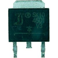 Schottkyho dioda Diotec SK1840D2 TO-263AB/D2PAK, I(F) 18 A, U(R) 50 V