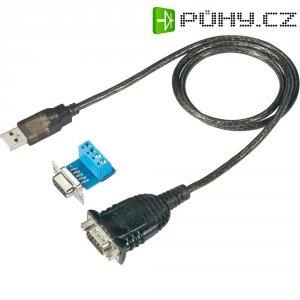Adaptér USB 1.1 sériový/VGA RS485, černý, 0,75 m