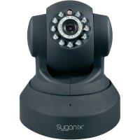 Bezpečnostní Wi-Fi/LAN kamera Sygonix, otáčecí/naklápěcí, max. 640 x 480 px