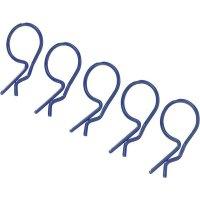 Sponky karoserie Reely, 25 mm, 1:10, 5 ks, modrá