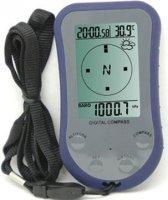 Digitální kompas WS110 s výškoměrem, teploměrem a hodinami