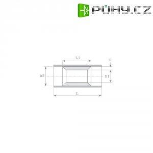 Paralelní spojka 4/6 mm² Vogt 3717P, polyamid, žlutá