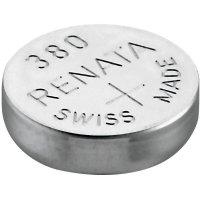 Knoflíková baterie 380 Renata, SR936, na bázi oxidu stříbra