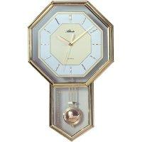 Quarz kyvadlové hodiny - pendlovky, 522, 28 x 45 cm, zlatá