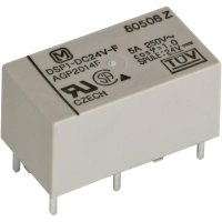 Výkonové relé DSP 5 A/8 A, Print Panasonic DSP124F, DSP124F, 300 mW, 5 A, 30 V/DC/250 V/AC , 1250 VA/150 W