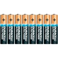 Alkalická baterie Duracell Ultra Power, typ AAA, sada 8 ks