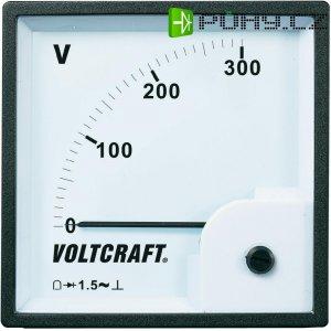 Analogové panelové měřidlo VOLTCRAFT AM-96x96/300V 300 V