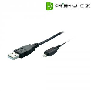 Adaptér USB-A zástrčka ⇒ mini USB-B zástrčka (4 pin)