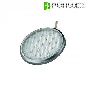 Vestavné LED osvětlení, 3x 1,2 W, 12 V, stříbrná