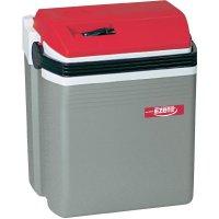 Přenosná lednice (autochladnička) Ezetil E28 12 V stříbrná, červená 28 l