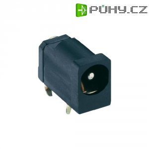 Napájecí konektor Lumberg 1613 16, Rozpínač, zásuvka vestavná horizontální, 4,5 mm
