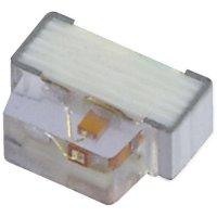 SMD LED Kingbright, KPA-1606QBC-D, 20 mA, 3,3 V, 110 °, 80 mcd, modrá