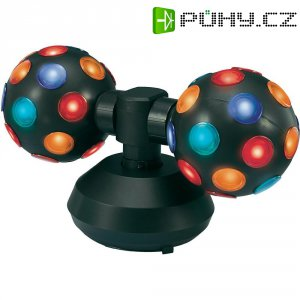 Diskotékový efekt Double Ball Mc Crypt, 2 x 15 W, 335 mm, barevná