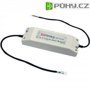Vestavný spínaný síťový zdroj MeanWell PLN-60-12, 12 VDC, 60 W