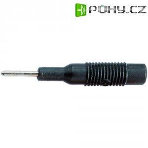 Adaptér 2/4 mm SKS Hirschmann MZS 2 (973600100), PP, rovný, černá