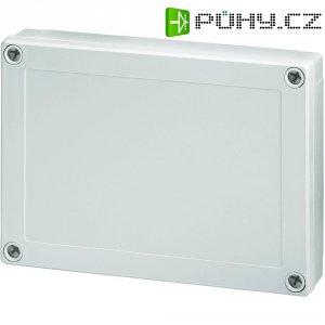 Polykarbonátové pouzdro MNX Fibox, (d x š x v) 180 x 130 x 35 mm, šedá (MNX PC 150/35 LG)