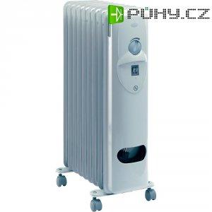 Olejový radiátor Honeywell HR-40920E, 800/1200/2000 W, světle šedá