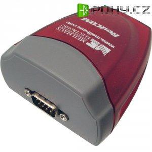 Adaptér Meilhaus Electronic USB 1.1 sériový/sériový, 9-pinový, červený