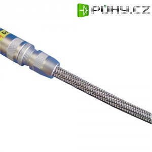 Síťovaná EMV hadice HellermannTyton HEGEMIP12-CUSP-L4, Ø 12 mm, hliník, černá,