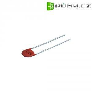 Kondenzátor keramický, 120 pF, 500 V, 10 %, 5 mm