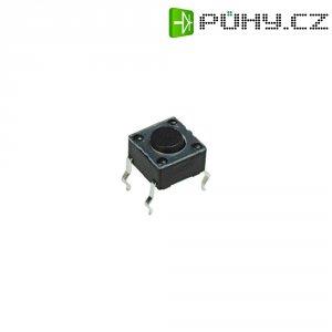 Mikrotlačítko do DPS Apem, PHAP3301, 12 V/DC, 0,05 A, vyp./(zap.)