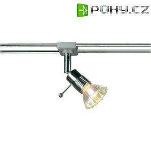Lištové halogenové svítidlo SLV Syros, 12 V, 50 W, GU5.3, chrom