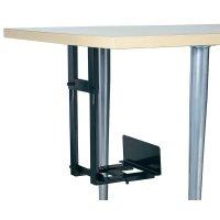 Držák PC pod stůl, nosnost 15 kg, černá