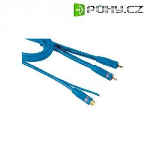 Cinch kabel Hama, 0.5 m, 2 x Cinch zástrčka ⇒ Cinch zásuvka, modrý