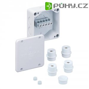 Propojovací krabice Spelsberg se svorkou, 4 mm2, IP54, šedá, 40440701