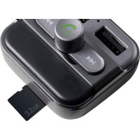 FM vysílač Technaxx FMT900BT, vč. handsfree, s MP3 přehrávačem, nabíjení pro iPhone