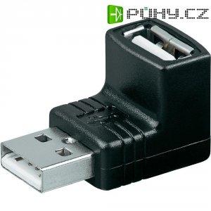 Adaptér USB 2.0, A / A, černý
