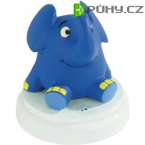 Slon s projekcí hvězdné oblohy a hudebním doprovodem Ansmann Cartoon, 1800-0017-510, modrá