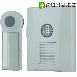 Bezdrátový zvonek s optickou signalizací Home Easy, HE821S, bílá