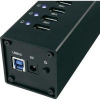 USB 3.0 hub s adaptérem, 10-portový