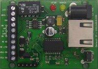 IP SMART BOARD - teploměr, termostat, relé přes IP + teplotní čidlo