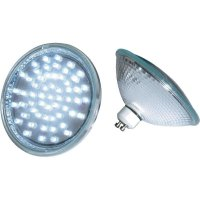LED žárovka ES111 s paticí GU10, 57 LED - bílá
